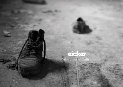 Die Schuster tragen die schlechtesten Schuhe. [Original: CC BY SA Sebastian Draxler]