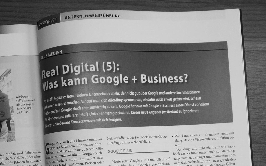 Was kann Google + Business? [Motorist]