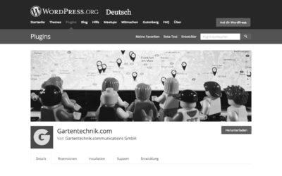 Gartentechnik.com: WordPress für Motoristen und Plugin für Erfolg im Internet!