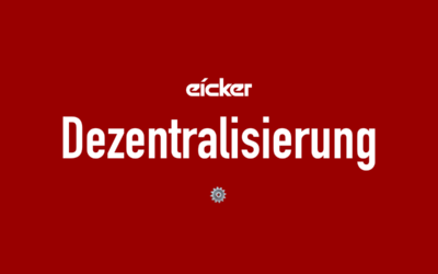 eicker.TV – Dezentralisierung, China vs Coronavirus, Apple ARM, Decentraland