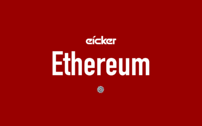 eicker.TV – Ethereum: ~99,95% weniger Energie! Amazon, Android, Windows